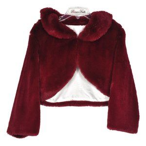 Faux Fur Shrug  🔥$10 with dress purchase🔥